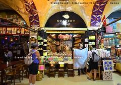 Grand Bazaar, Istanbul (Ameer Hamza) Tags: turkey bazaar capali carsi grandbazaaristanbul istanbul islamicarchitecture islam 2016 visitors tourists buyers greatestbazaaronearth travelsinturkey mustseesight touristtrap arch architecture historical