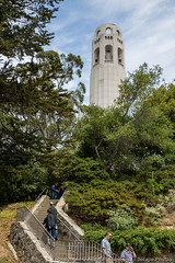 Coit Tower on Telegraph Hill (3scapePhotos) Tags: sanfrancisco california city travel urban usa west building tower vertical architecture coast san francisco downtown famous hill cities landmark coastal coittower westcoast telegraph coit 3scapephotos