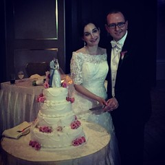 At the beginning of a beautiful marriage, Marissa and Michael, this adorable couple are a joy to celebrate, my dear friends, on their special day. #marriage #wedding #love #truelove