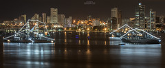 Bay at night VIII (Magic life gallery) Tags: colombia cityscape nightscape bolvar co cartagena