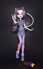 Catrine Ghouls chat (PurpleandOrangeMH) Tags: catrine monster high doll ghouls chat scaremester gloom bloom basic mueca