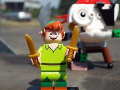 Peter Pan (Paranoid from suffolk) Tags: lego character cartoon peterpan disney collection series minifig collectible minifigure 2016 blindbag