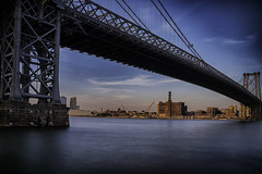 Day 256/365 (Alexander Marte Reyes) Tags: newyorkcity longexposure bridge architecture williamsburgbridge daytimelongexposure nikonphotographers nikond750