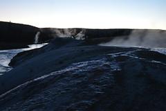 Deleted Teakettle geyser, Yellowstone NP (David A's Photos) Tags: night yellowstonenationalpark geyser yellowstonetrip uppergeyserbasin deletedteakettle june2016