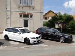 E91 335D et 330D (Nicolas FYH) Tags: meeting f30 german bmw z3 touring motorsport e90 535d e60 e39 rassemblement 330d 320d nurb e92 e91 335d