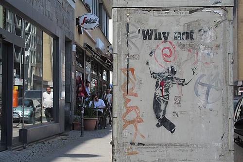 Berlin - Why not? in der Friedrichstraße