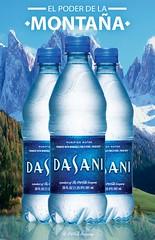 "1 Poster. DASANI ""El poder de la Montaa"" (macross design) Tags: water photoshop poster photography design photo bottle agua cocacola montaa montain botella dasani"