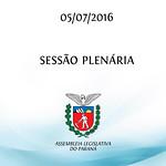 Sess�o Plen�ria 05/07/2016