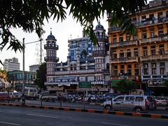 Yangon - Bengal Sunni Yameh Mosque (sharko333) Tags: tavel reise voyage asia asien asie myanmar burma birma yangon rangoon street building mosque bengalsunniyamehmosque olympus em5