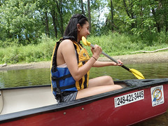 P7030006 (hhwilhelm) Tags: people usa sports america person us friend unitedstates michigan unitedstatesofamerica buddy canoe relationship human boating northamerica watersports mate relationships matey pai humanbeing humans deeksha humanbeings clintonriver sportsrecreation