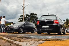 Volkswagen Golf GTI & Golf GTI VR6 (Jeferson Felix D.) Tags: camera brazil rio brasil riodejaneiro vw canon golf volkswagen de photography eos photo foto janeiro gti fotografia vr6 vwgolf volkswagengolf vwgolfgti 18135mm 60d worldcars volkswagengolfgti canoneos60d vwgolfgtivr6 volkswagengolfgtivr6