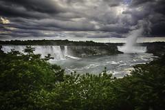 A Storm Over Niagara Falls (Kam Sanghera) Tags: ontario canada storm canon river waterfall mark iii niagara falls american handheld 5d nik horseshoe dslr hdr efex