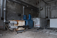 Machine room (mmcad) Tags: abandoned buildings japanese scotland decay north group swedish storage company stevenson imperial alfred dynamite left peninsula chemicals derelict irvine explosives industries nobel troon ici ayrshire disrepair 1870 ardeer enterprises inabata