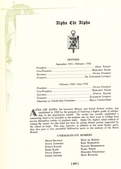 Alpha Chi Alpha (Hunter College Archives) Tags: students 1932 yearbook fraternity hunter awards honors huntercollege studentorganizations organizations fraternities wistarion thewistarion sigmaepsilonphi