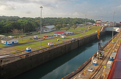 Panama Canal (joybidge (back from vacation)) Tags: panamacanal naturepatternscanada trishcanada tsmay62013