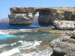 Malta: Gozo, Azure Window (Adfoto) Tags: sea rocks mediterranean zee malta gozo rotsen