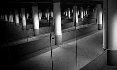 Gare de Monaco - Monte-Carlo (Jos Mecklenfeld) Tags: station mirror spiegel montecarlo monaco ricoh gx200 monacostation garedemonacomontecarlo ricohgx200 stationmonacomontecarlo