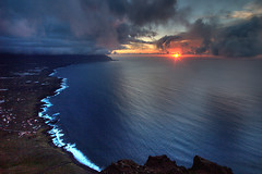 Clifftop Sunset (haddock) Tags: sunset espaa spain canarias atlantic espagne canaryislands spanien spagna elhierro