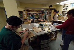 Ceramics workshop, McDonalds Corners (chasdobie) Tags: ontario canada art community nikon ceramics clay workshop artists pottery potters mera lanarkcounty