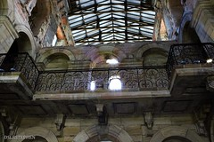 seaton delaval hall interior balcony (dslr stephen) Tags: roof balcony historical beams masonary seatondelavalhall