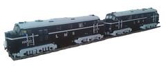 LMS 10000 / 10001 (bricktrix) Tags: train toys lego diesel railway lms legotrain 9v lms10000