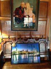 my Chicago skyline photo at the Playboy Mansion v1 (Rasidel Slika) Tags: chicago skyline night hugh playboy mansion hdr hdri hefner delobbo rasidel