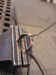 Dragon Egg Stand (Making It) (@scottjanousek) Tags: metal welding mig marbleegg artisansasylum cubical90