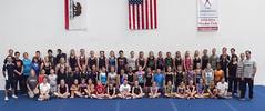 California State T&T Gymnastic Clinic at Frequent Flyer Xtreme Gymnastics, Ontario CA. (pnolte) Tags: mini trampoline double gymnast gymnastics tumbling gymnasts pnolte frequentflyerxtremegymnastics