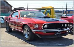 AL-79-44 Ford Mustang Mach 1 [1969] (Ruud Onos) Tags: ford 1969 1 mustang fordmustang mach fordmustangmach1 mustangvalley al7944 fordmustangmach11969 haagscheamerikanenclub
