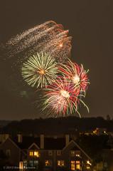Hull Fireworks 2013 (alohadave) Tags: sky unitedstates massachusetts places northamerica hull hazy stonybeach fortrevere universalhub smcpda55300mmf458ed pentaxk5