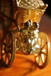 Vintage Clock Carriage