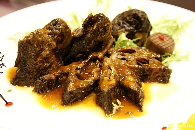台北中山.千群台食文化料理_蔥燒鯽魚