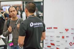 Racker Answering Questions at OSCON (Garrett Heath) Tags: cloud oscon hosting rackspace 2013 racker