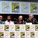 Bryan Singer, Hugh Jackman, Patrick Stewart, Ian McKellen & Halle Berry