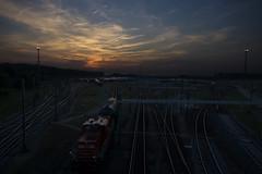 (MarLod2013) Tags: sunset train rail trains trein kijfhoek