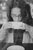 Lomasi (Stefanie Myr) Tags: pictures bw white black senior coffee portraits 50mm nikon f18 d40