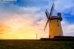 Millisle Windmill (C.M_Photography) Tags: ballycopeland windmill millisle northernireland mill hisoric sunset colourful