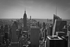View from the Rock! (Steve Grogan Photography) Tags: nyc newyorkcity newyork empirestatebuilding rockefeller