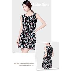 ชุดทำงานสวยๆ เสื้อผ้าแฟชั่นเกาหลีพร้อมส่งTJ7126 นำเข้า ราคา780฿ โทรสั่ง083-1797221 www.lotusnoss.com, Line ID:lotusnoss, WeChat ID:lotusnoss #ชุดทำงาน #เสื้อผ้าแฟชั่น #ชุดเดรส #พร้อมส่ง #evening #fashion #dress #lotusnossshop #lotusnoss