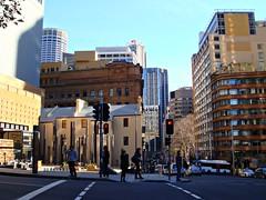Sydney street shot
