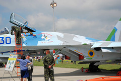 "Sukhoi Su-27 (5) • <a style=""font-size:0.8em;"" href=""http://www.flickr.com/photos/81723459@N04/9962606334/"" target=""_blank"">View on Flickr</a>"