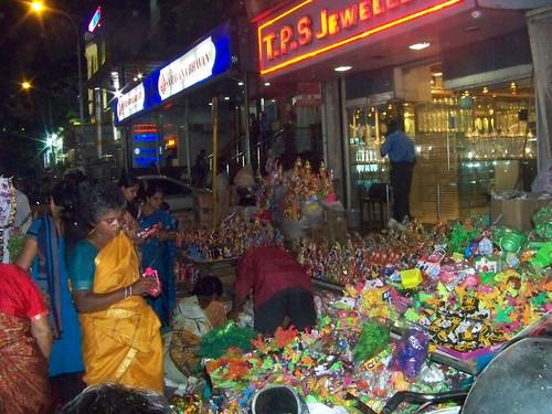 Navratri Golu Dolls Vendors at North Mada St. Mylapore Chennai 4