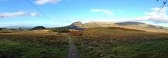 Walking towards Arlehaven (barronr) Tags: sky sun walking hill westhighlandway iphone vftw uploaded:by=flickrmobile flickriosapp:filter=nofilter