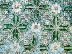 Tiles (cyclingshepherd) Tags: green portugal station rail railway lagos september railwaystation tiles algarve tiling azulejos 2013 cyclingshepherd