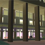 North Side, Northeast Side Columns, at Night (Proposed Rendering)
