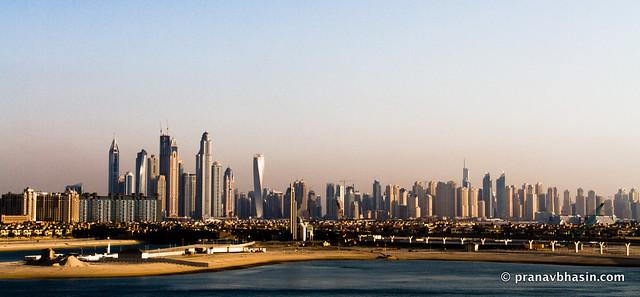 Dubai Skyline Panorama, Dubai