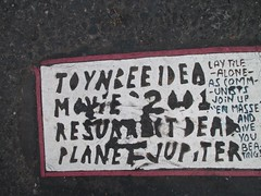 New Toynbee Classic Message Tile 5th Avenue 2013 NYC 0935 (Brechtbug) Tags: street new york 2001 city nyc classic by tile dead idea message near manhattan severino september midtown made tiles planet jupiter kubricks avenue 5th toynbee named verna crumbling sevy possibly reclusive resurrect uncovered 56th 2013 philadelphian 09242013 11242013