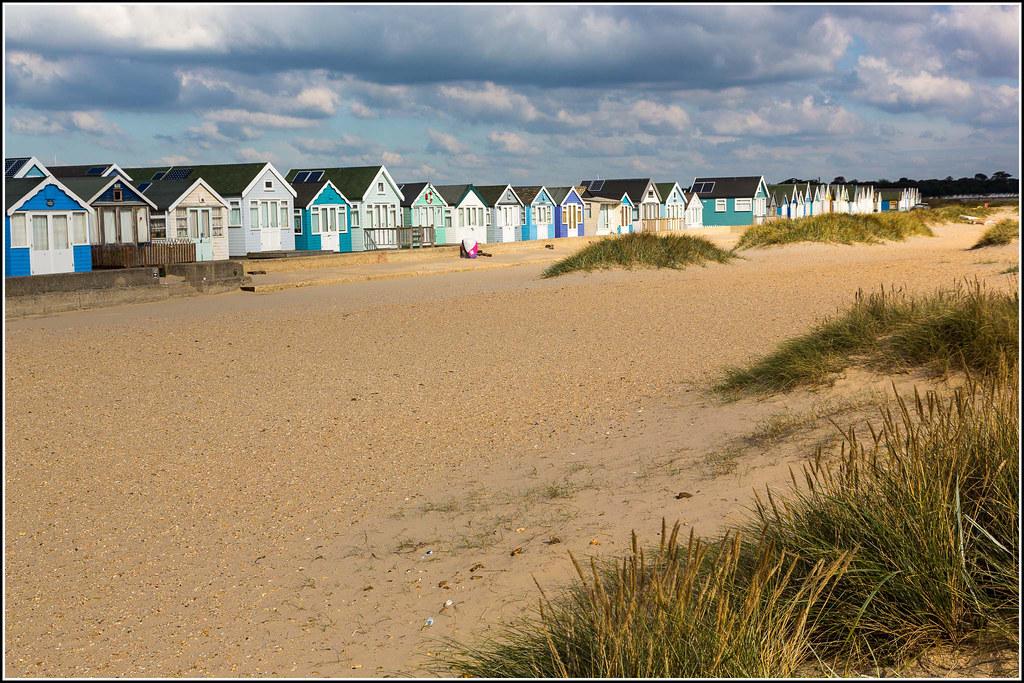 Beach Huts at Mudeford Sandbanks