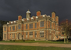 moody sky with sunshine at Sudbury Hall (GVG Imaging) Tags: derbyshire nationaltrustproperty sudburyhall d700 mygearandme mygearandmepremium mygearandmebronze mygearandmesilver nikkor1635mmf4