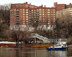 NYPD Police Harbor Unit Patrol Boat, Deadly Metro-North Passenger Train Derailment near the Spuyten Duyvil Station in the Bronx, New York City (jag9889) Tags: nyc railroad rescue newyork cars station train boat marine crash accident bronx tracks police nypd mta hudsonriver locomotive raft passenger zodiac ems department patrol recovery metronorth deadly officers riverdale derailment harlemriver spuytenduyvil harborunit hudsonline 2013 metropolitantransitauthority jag9889 1212013